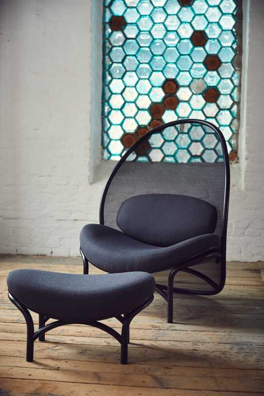 Ton's new Chips lounge chair by Lucie Koldova