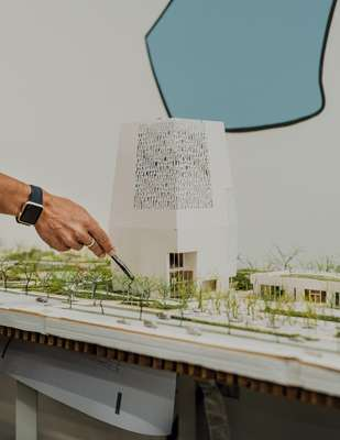 Scale model of Obama Presidential Center campus to be built in Jackson Park