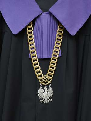 Regalia worn by Polish Supreme Court judges