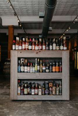 Bottles to buy at Red & White wine bar