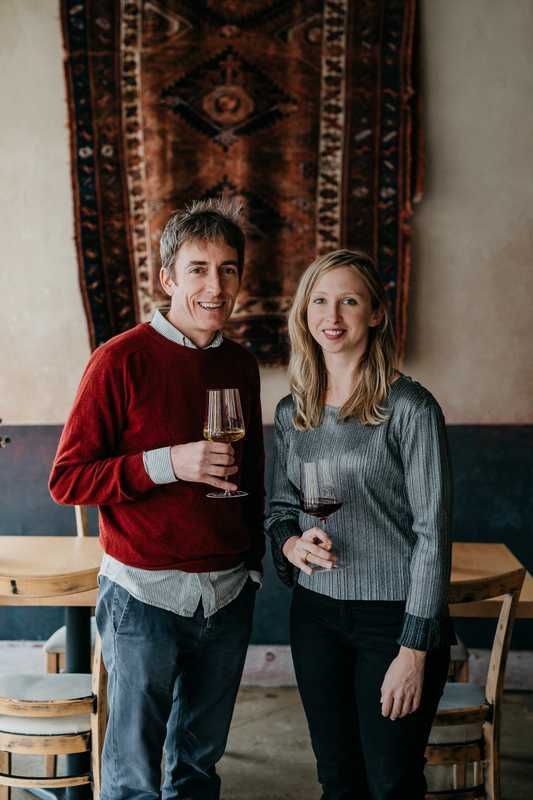 Red & White Wine Bar owners