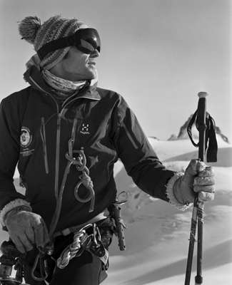 Victor Lapras, a harmonica-playing mountain guide from St Gervais and former navy commando