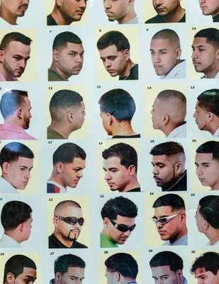 The periodic table of short back and sides.