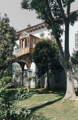 Maison Rabih Kayrouz is housed in a 19th-century mansion