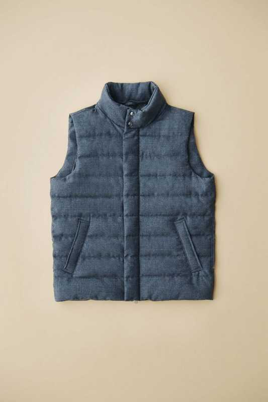 Down vest by Herno