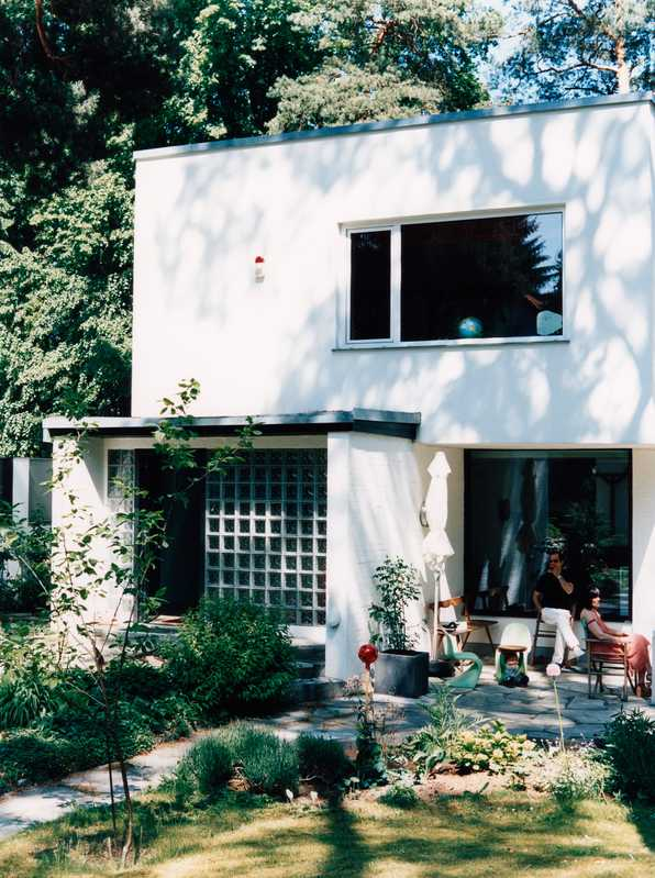 Cynthia Barcomi Friedman's Zehlendorf house, built in the early 1960s