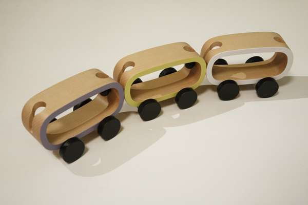 Buchi - A new company based in Nagano that makes wooden toys for children.