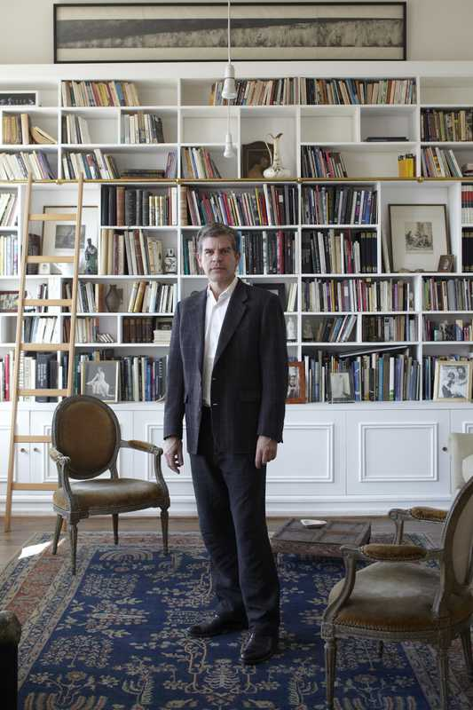 Emilio Lamarca, a former diplomat who now owns gallery space Casa E