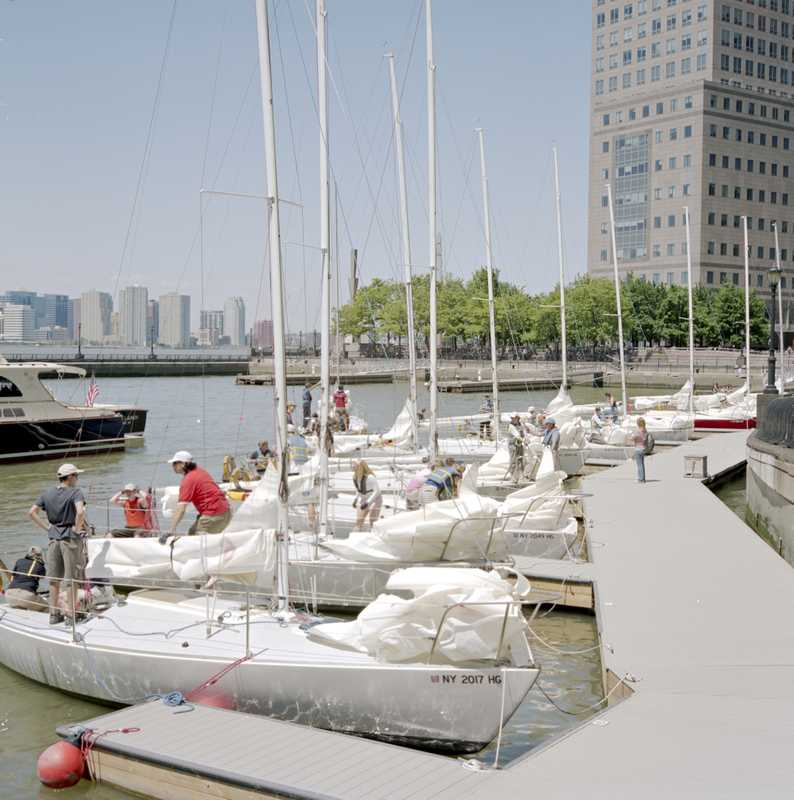 Battery Park City jetties