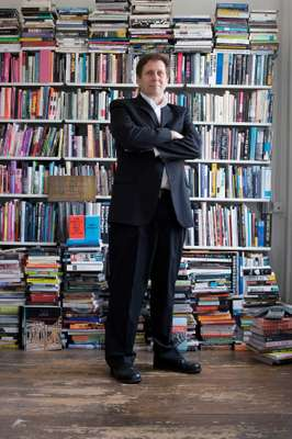 Brett Steele in his London office