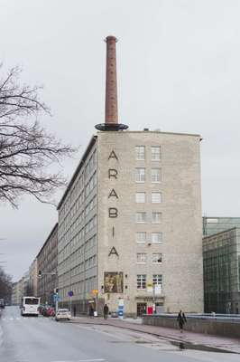 Arabianranta, a campus for Aalto University complete with a library, cafés and shops