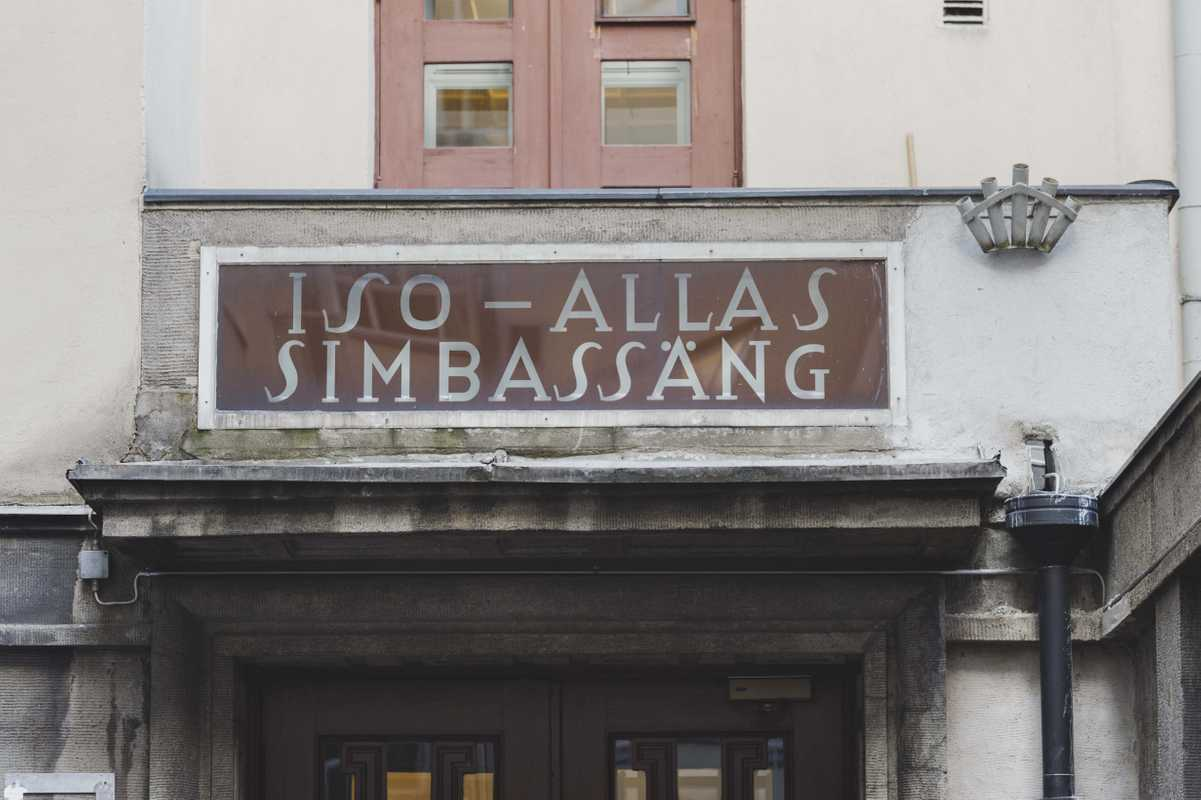 Yrjönkatu Swimming Hall, the oldest in Finland