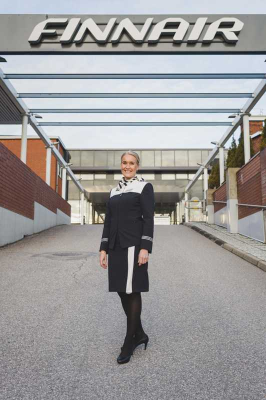 Finnair training manager Katja Parviainen