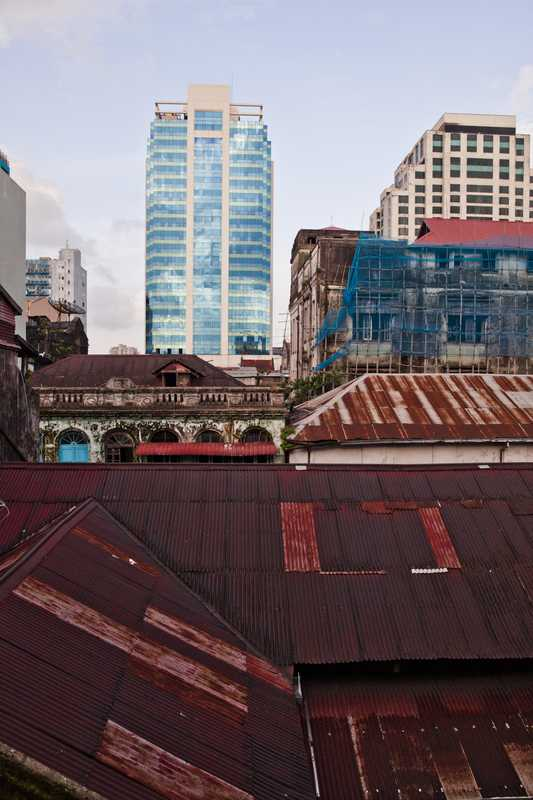 Rooftops of Little India