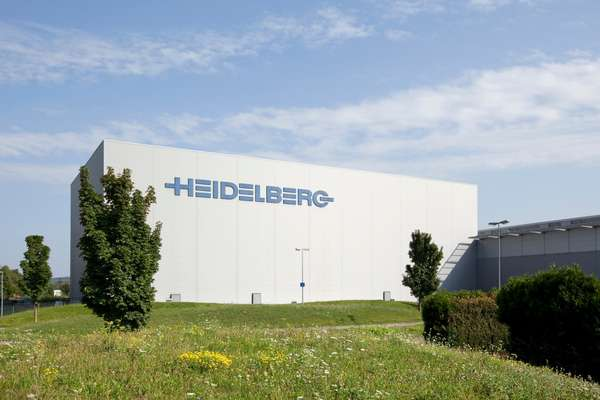 The exterior of the Heidelberg factory