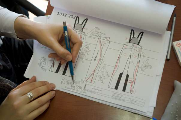 Designs for ski trousers