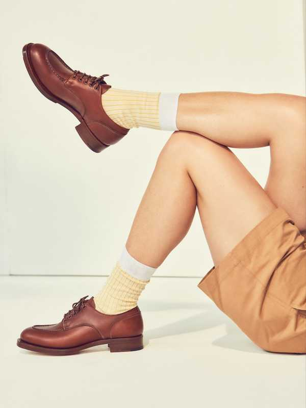 Shorts by Maison Kitsuné, socks by Church's, shoes by Santoni Edited by Marco Zanini