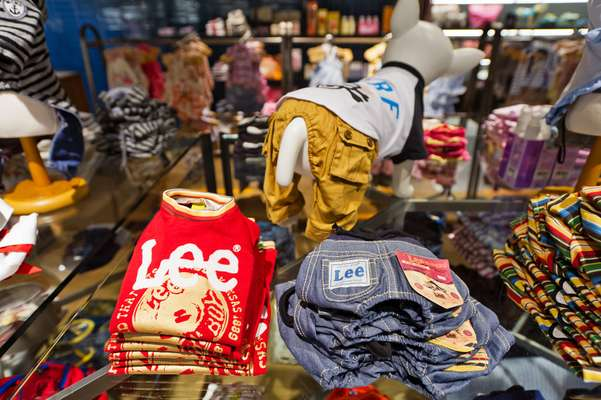 Lee jeans at Hannari