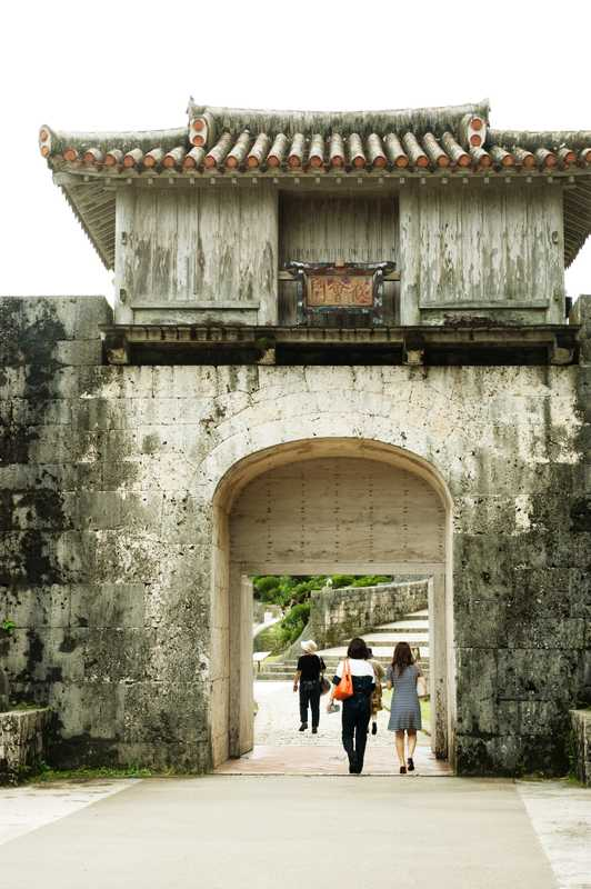 Gate to Shurijo, the Kankai gate