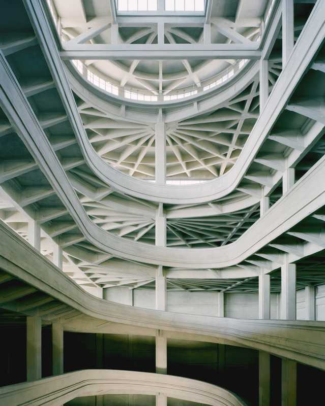 Interior of the Lingotto factory