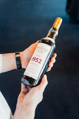 Bottle of Macallan