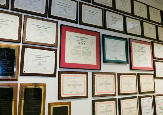 Awards and citations given to the newspaper