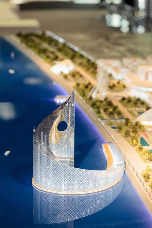 Foster + Partners' White City (Baku) work