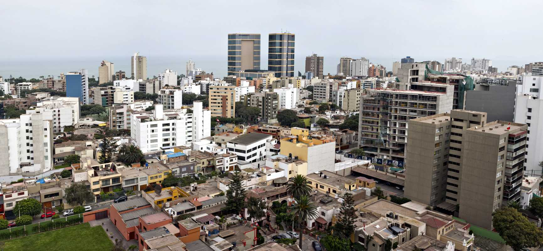 Miraflores, an upmarket part of Lima