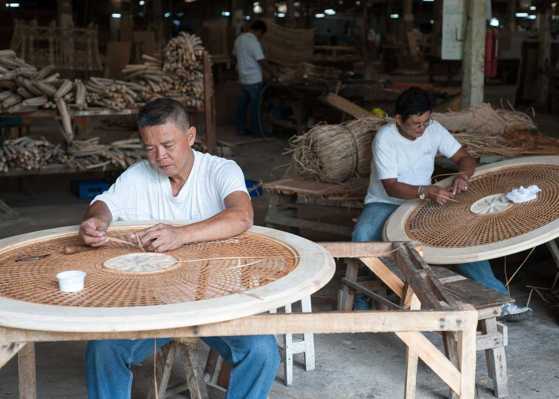 Weavers at CFIF
