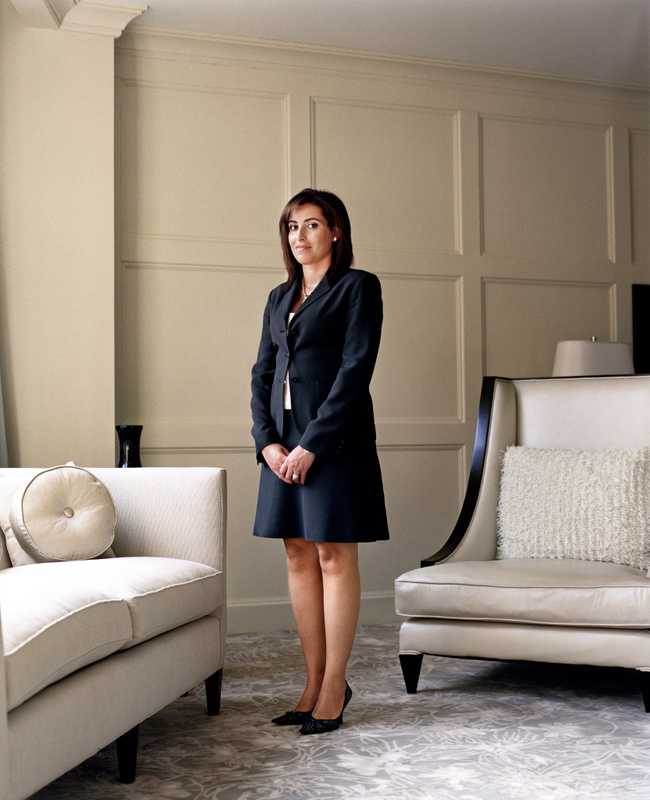 Ghizlane Boukhnif. Diplomatic sales manager, Four Seasons Hotel