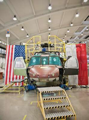 Black Hawk in the making at PZL Mielec's facility