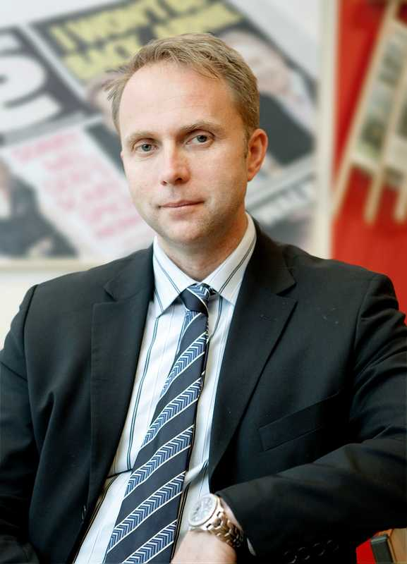 Jan Melin, CEO of Tolerans