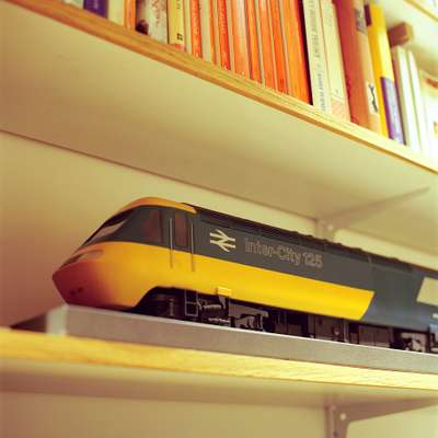 Model for Grange's HST 125 InterCity train for British Rail