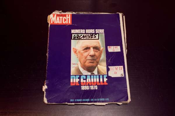 The original cover of the special edition on De Gaulle, published at his death in 1970 – one of the best selling issues