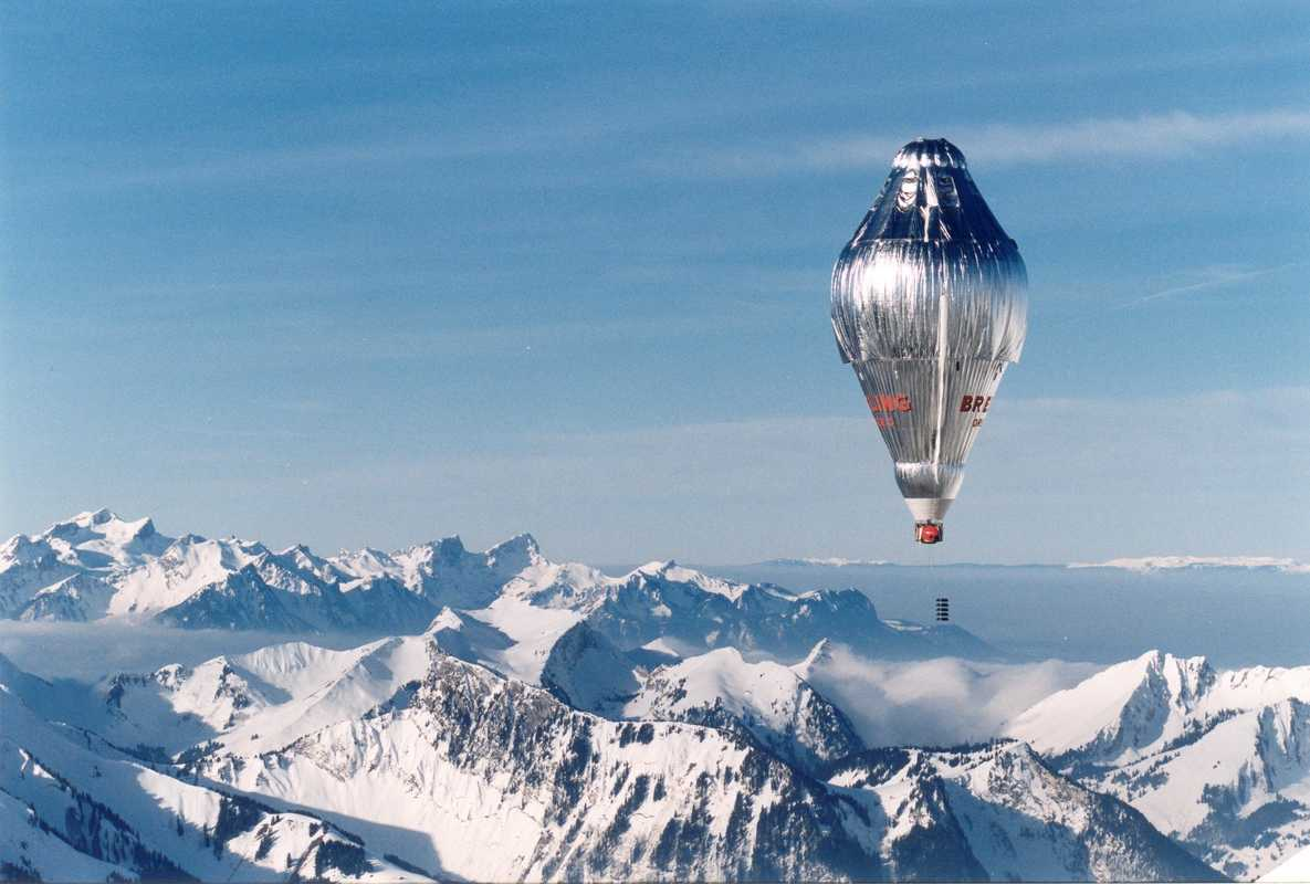 The Orbiter 3 hot-air balloon