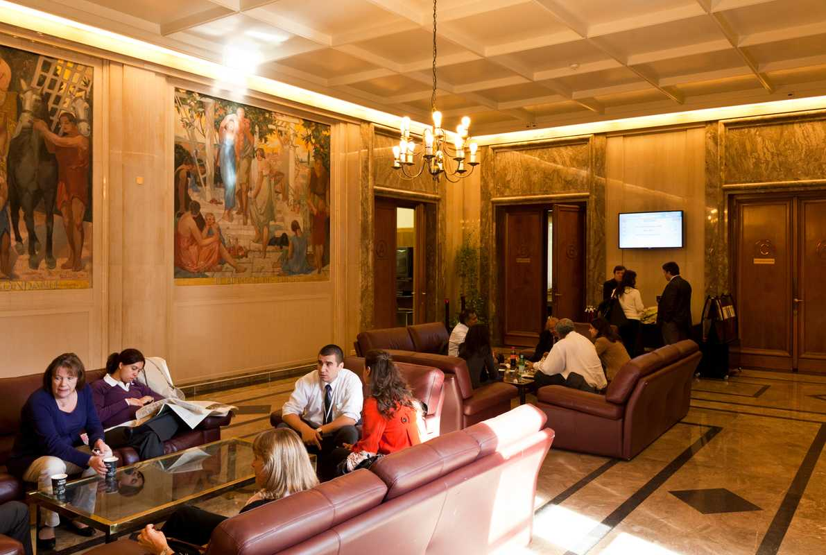 Cafeteria in the main WTO building