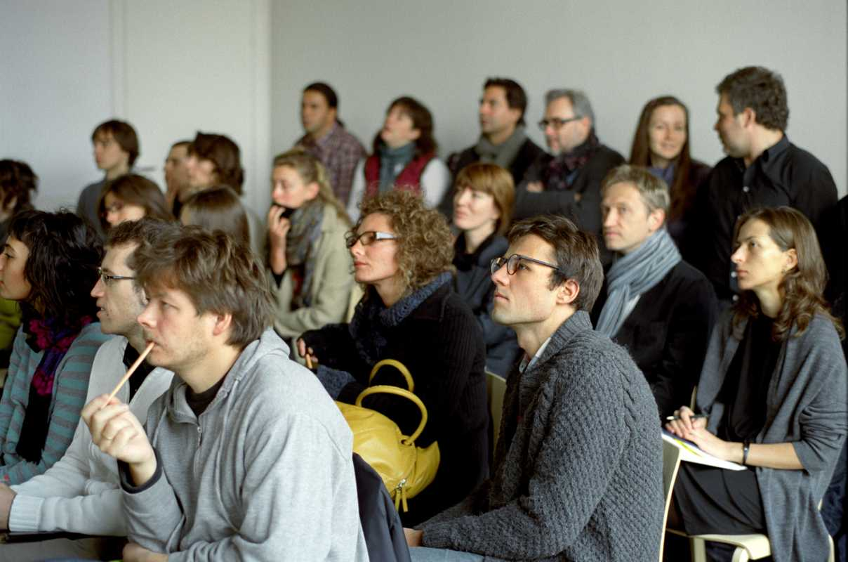 Students at Strelka Institute, Moscow