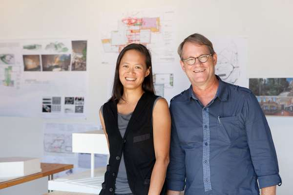 Anne Chen and Gary Carlough at Edge Studio