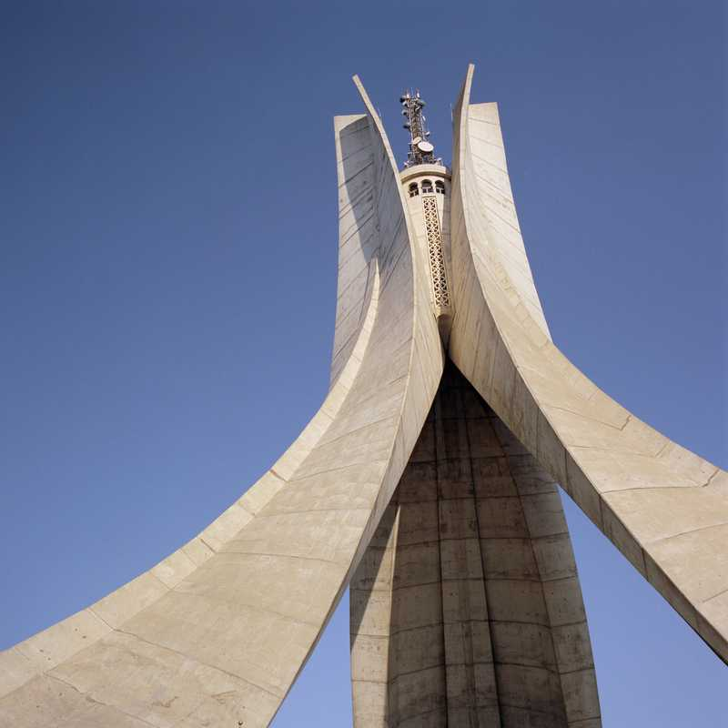 Martyrs' Memorial, dedicated to people killed in the war of independence