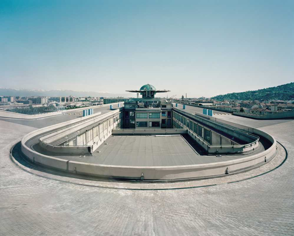 Test track at the former Lingotto Fiat factory