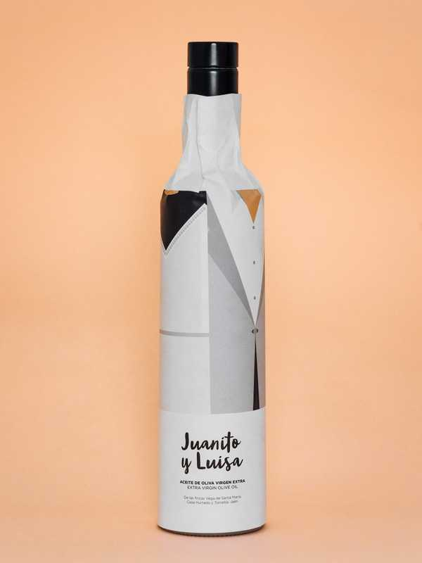 Packaging for Juanito y Luisa olive oil