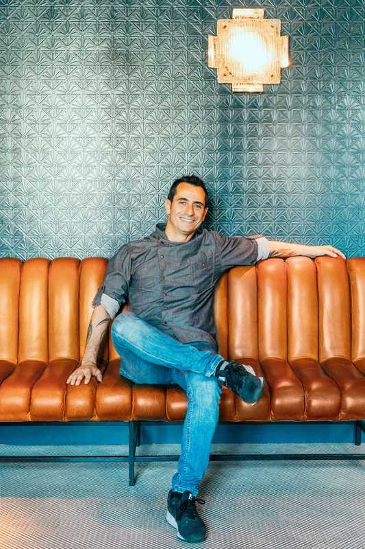Pepe Roch, chef and shareholder at Café Comercial and Casa Macareno