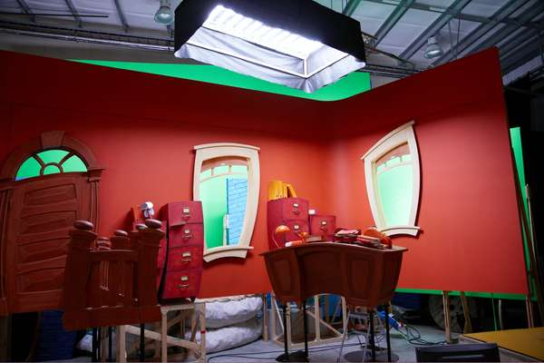 LazyTown set design