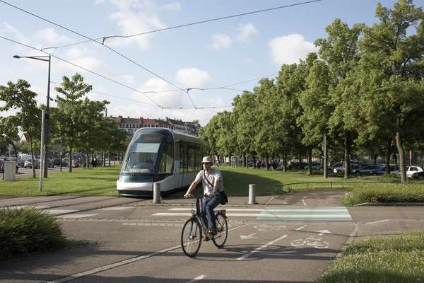 Tour of the tram network in Strasbourg
