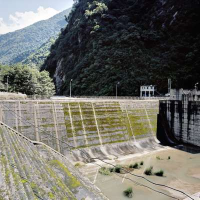Reservoir and dam, Bohte Koshi Valley