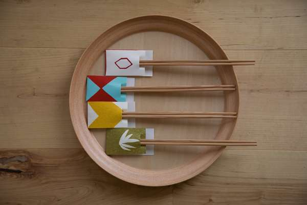 Quirkily presented chopsticks