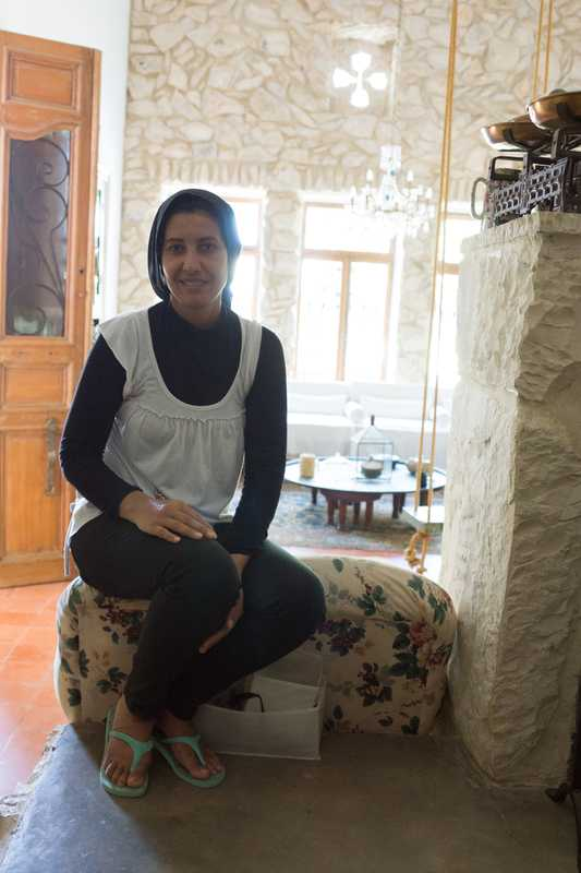 Asmahan works at Beit al Batroun