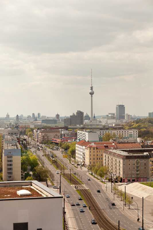 Panoramic Berlin view