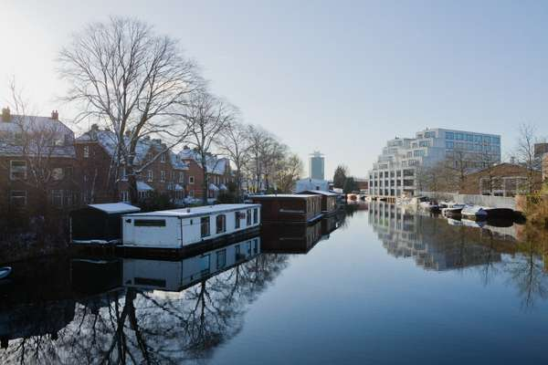 Amsterdam's waterside revival