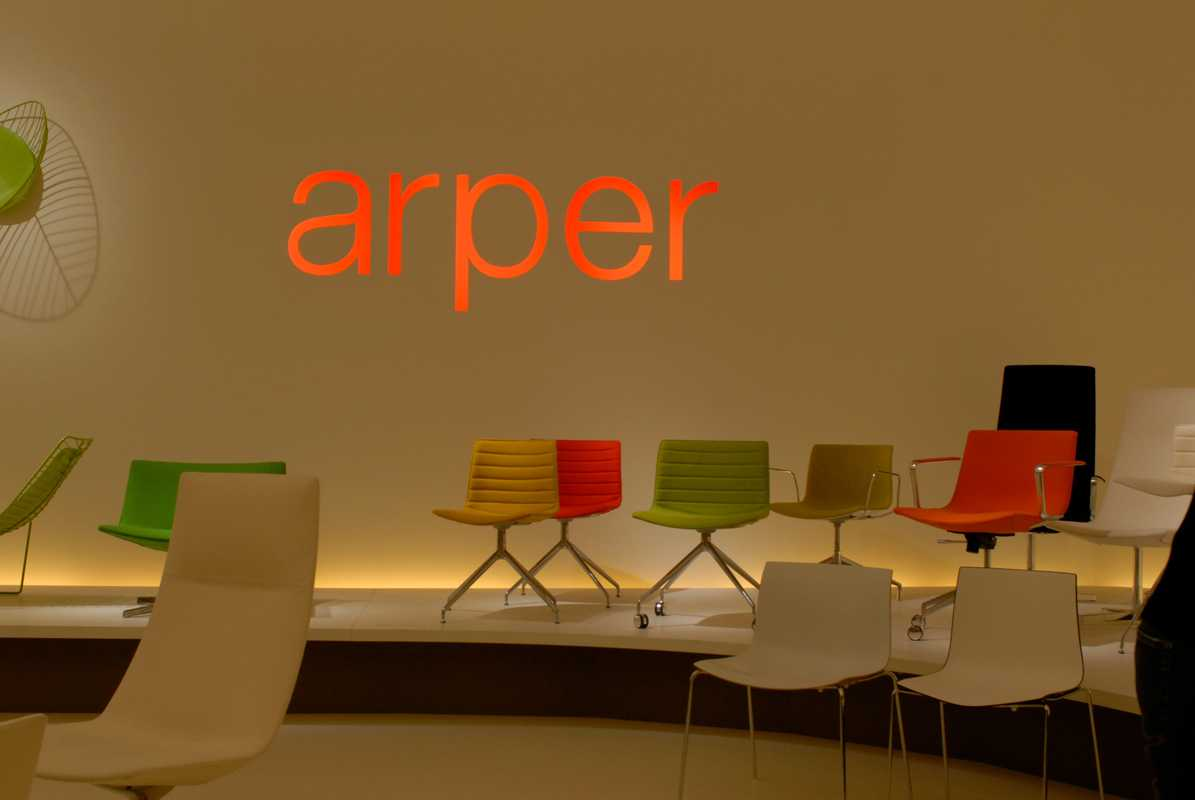 Chairs by Arper